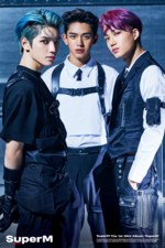 SuperM Taeyong Kai Lucas SuperM concept photo 2