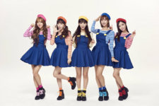 Crayon Pop Dancing All Night group 2015