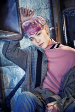 B.A.P Zelo Rose promo photo