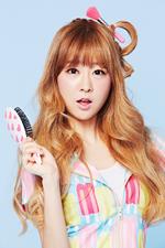 LABOUM Yujeong Sugar Sugar promo photo (1)