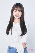 IZONE Jo Yu Ri official profile photo