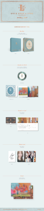 Lovelyz Once Upon A Time album packaging (Limited ver.)