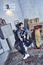 Wanna One Lai Kuan Lin Light promo photo 2