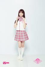 Na Go Eun Produce 48 promotional photo 3