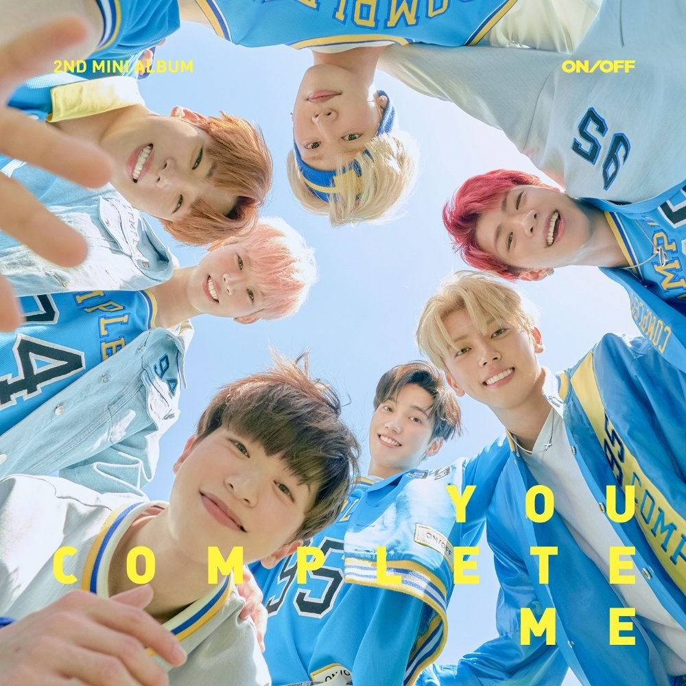 Image result for onf you complete me image cover png