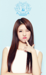 Lovelyz Lee Mi Joo Lovelyz8 concept photo