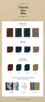 NU'EST Happily Ever After Kihno packaging