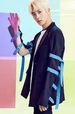 BTS Jin Fake Love Airplane Pt 2 promotional photo