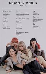 Brown Eyed Girls RE vive track list (Korean)
