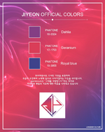Jiyeon official colors