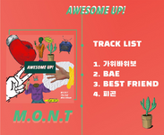 M.O.N.T Awesome Up! track list