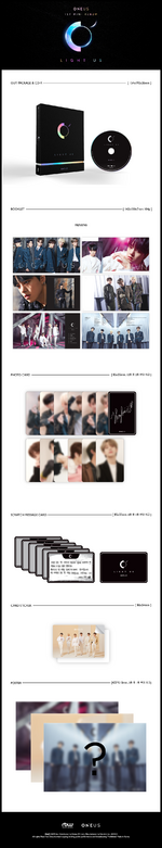ONEUS Light Us album packaging