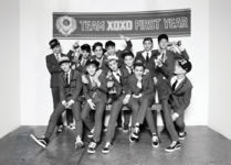 EXO XOXO First Year group photo