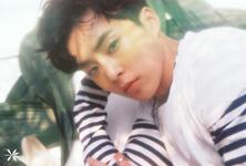 EXO Xiumin The War promotional photo