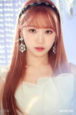 IZONE Kim Chae Won Heart IZ concept photo Sapphire ver
