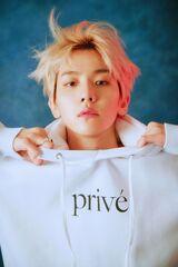 Baekhyun para 'Privé by BBH'