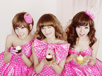 Orange Caramel The First Mini Album group promo photo