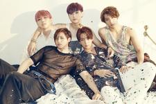B1A4 Sweet Girl group photo