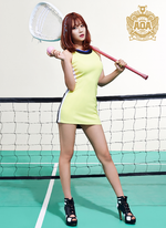 AOA Yuna Heart Attack photo