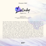 GOT7 Lullaby English ver. lyrics