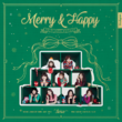 TWICE Merry & Happy digital cover art