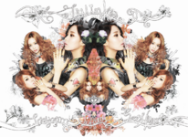 Girls' Generation-TTS Twinkle group
