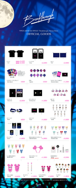 TWICE Breakthrough release event official goods