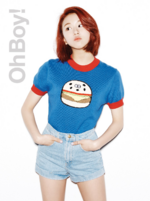 TWICE Chaeyoung Oh Boy promo