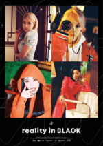 MAMAMOO Reality in BLACK group concept photo