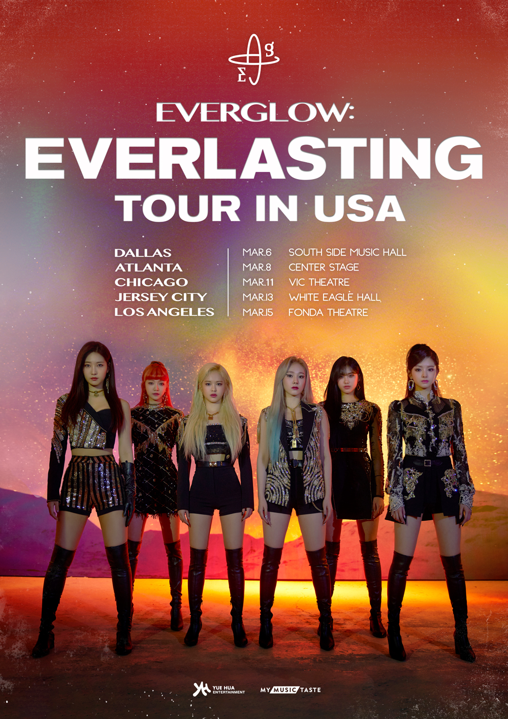 EVERGLOW: Everlasting Tour | Kpop Wiki | Fandom