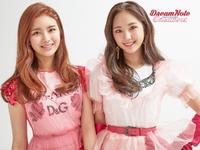 DreamNote Dream us unit concept photo (Eunjo & Sumin) (Cheerful ver.)