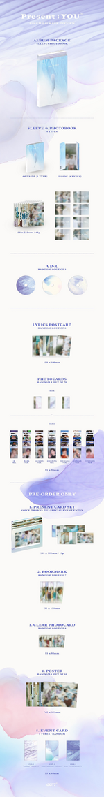 GOT7 Present You album preview