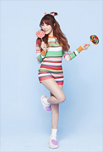 LABOUM Soyeon Sugar Sugar promo photo (2)