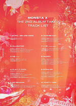 MONSTA X Take.2 We Are Here track list