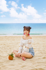 TWICE Mina Summer Nights promo photo
