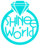 Shinee world logo by katja94-d61xio6