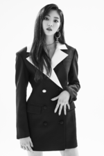 CLC Eunbin Black Dress promo photo