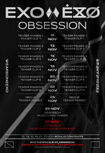 EXO Obsession scheduler