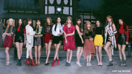 IZONE Vampire group concept photo