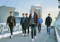 7 O'Clock debut group promo photo