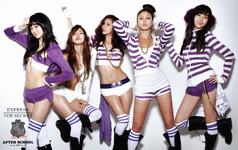 After School New Schoolgirl group photo