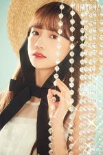 IZONE Jo Yu Ri Heart IZ concept photo Sapphire ver
