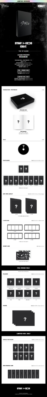 Stray Kids Go Live album preview limited edition