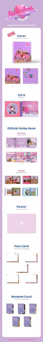 Red Velvet The ReVe Festival Day 2 album packaging (Guidebook ver.)