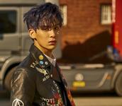 SF9 Tae Yang Burning Sensation promo photo