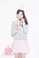 Produce 101 Choi Yubin promo photo 2