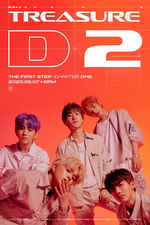 TREASURE The First Step - Chapter One D-2 poster