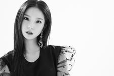 CLC Yujin Black Dress promo photo