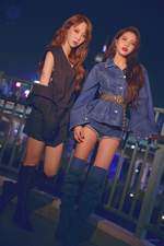 MAMAMOO Blue;s Moonbyul & Solar concept photo