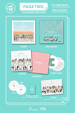 TWICE Page Two Thailand edition packaging